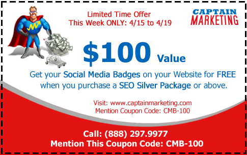 Captain Marketing SMO Coupon